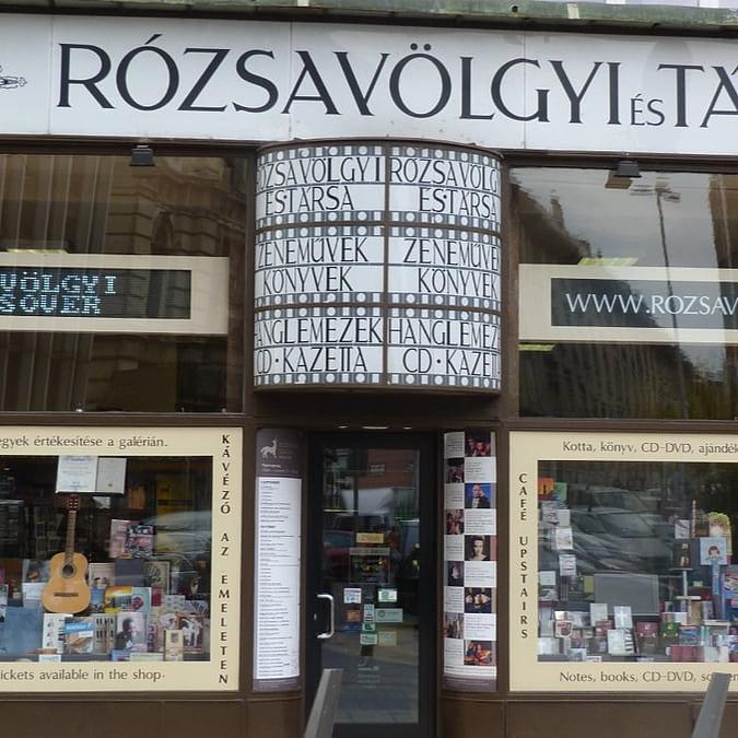 Bartók-kotta, Wagner-album, akár egy órán belül! – Házhoz jön a Rózsavölgyi kínálata